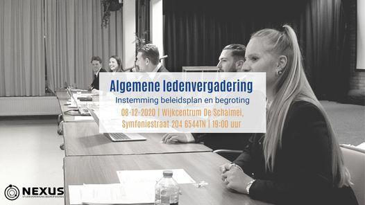Algemene ledenvergadering, 8 December | Event in Nijmegen | AllEvents.in