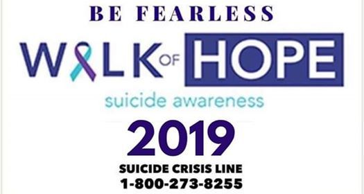 Be Fearless Walk Of Hope 2019 at New Life Fellowship
