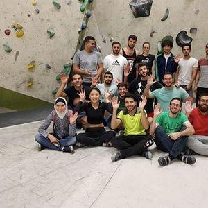 Bouldern (Klettern) mit dem IIK