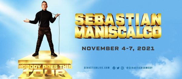 Sebastian Maniscalco - Nobody Does This Tour, 4 November   Event in Fort Myers   AllEvents.in