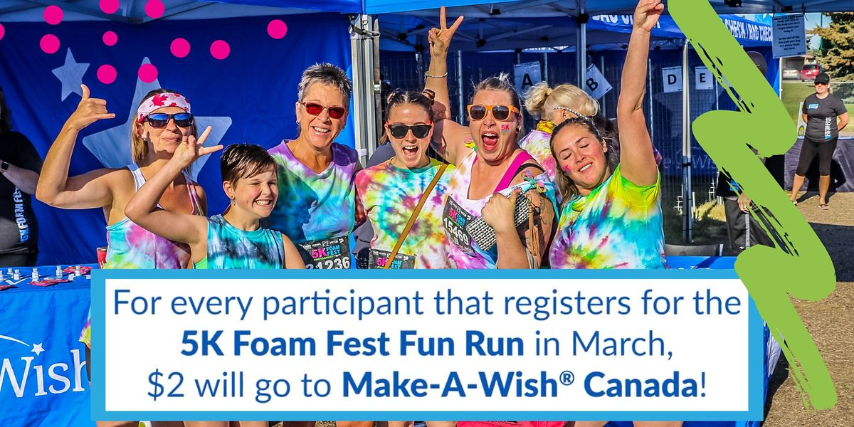 The 5K Foam Fest  - Vancouver, BC 2021, 29 May | Event in Surrey | AllEvents.in