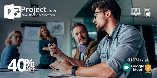 Curso completo de Microsoft Project 2019 (Curso en vivo), 22 July | Online Event | AllEvents.in