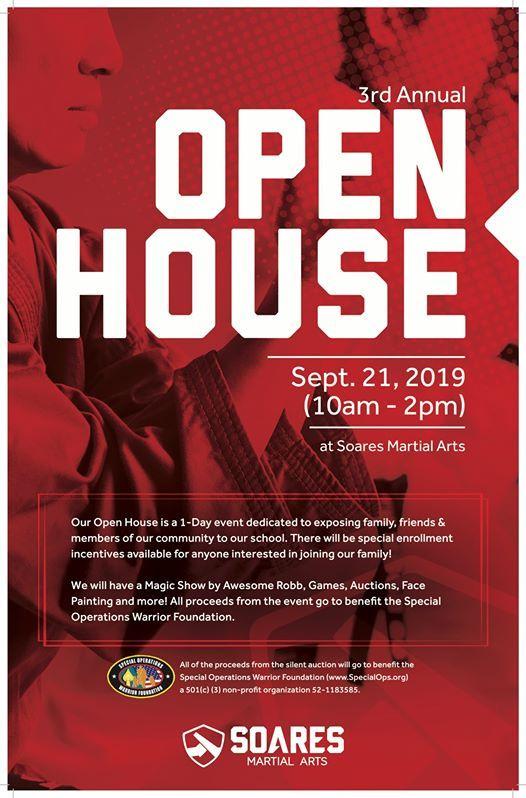 3rd Annual Open House at Soares Martial Arts, Dartmouth