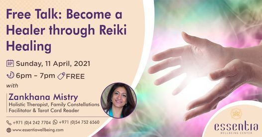 Free Talk: Become a Healer through Reiki Healing with Zankhana Mistry | Event in Dubai | AllEvents.in
