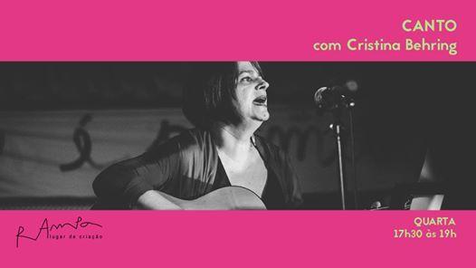 Canto com Cristina Behring