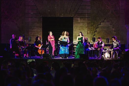 Accademia del Piacere Carmen Linares & Ghalia Benali en Mlaga