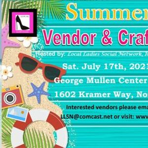 Summer Vendor & Craft Fair in North Port- Indoors July 17th