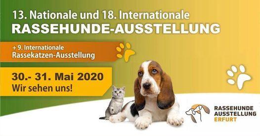 CACIB Rassehunde-ausstellung Erfurt 2020, 30 May | Online Event | AllEvents.in
