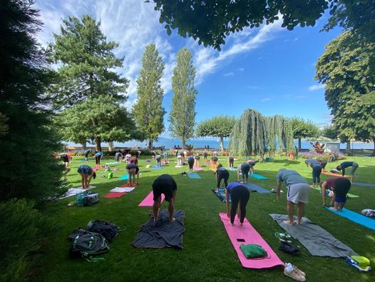 Yoga dans le parc à Vevey | Event in Vevey | AllEvents.in