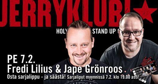Jerryklubi - Fredi Lilius & Jape Grnroos