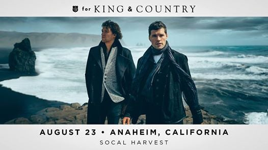 for KING & COUNTRY at Harvest SoCal 2019 | Orange
