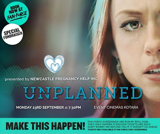 Unplanned - Event Cinemas Kotara