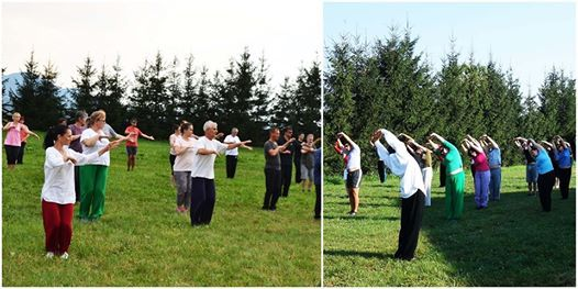 Bio-retreat Tai Chi si Yoga Taoista in Muntii Fagaras