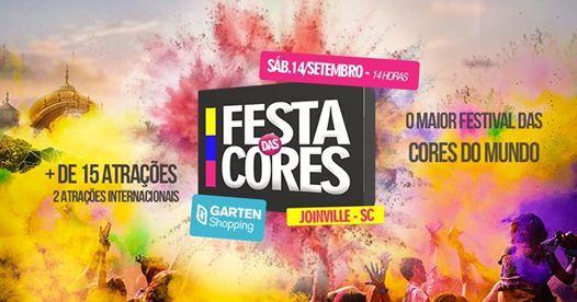 Festa das Cores  - GARTEN SHOPPING- 14 SET TOUR SANTA CATARINA