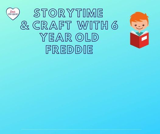 Storytime with Freddie (age 6), 15 June | Event in Fareham | AllEvents.in
