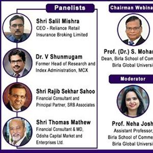 Webinar on Strategic Issues in Indian Financial Sector