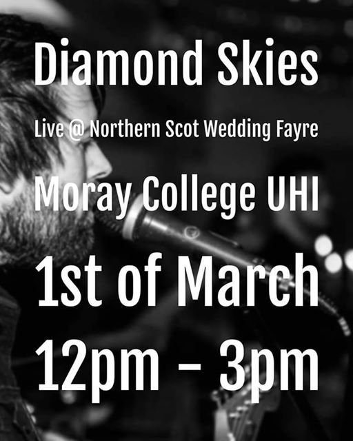Diamond Skies Live at Northern Scot Wedding fayre
