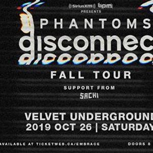 Phantoms at Velvet Underground  Oct 26