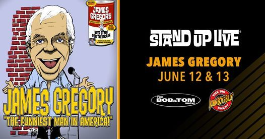 James Gregory at Stand Up Live