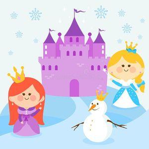 Ice-Princess & Snowman Breakfast