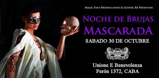 Noche de Brujas Mascarada, 30 October | Event in Sarandí | AllEvents.in