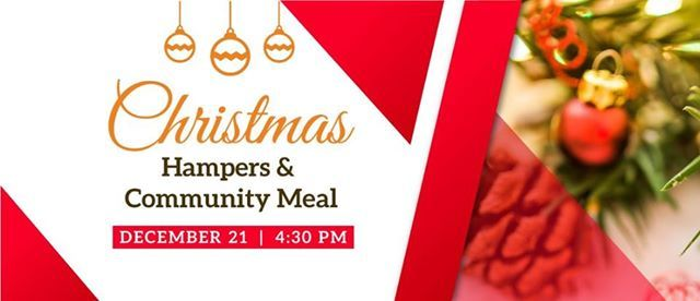 Christmas Hampers & Community Meal