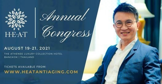 HEAT Congress for Anti-aging Medicine 2021, 19 August   Event in Bangkok   AllEvents.in