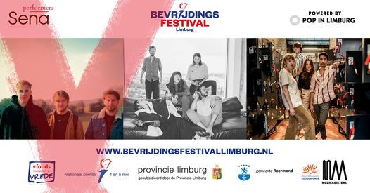 Bevrijdingsfestival Limburg Sena Performers Clubtour: Maastricht, 11 September | Event in Maastricht | AllEvents.in