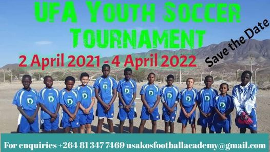 UFA Youth Soccer Tournament 2021, 2 April | Event in Swakopmund | AllEvents.in