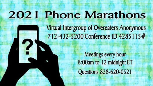 2021 Phone Marathons | Event in Riverton | AllEvents.in