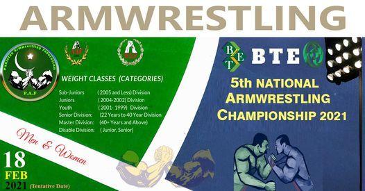NBP 5th National Armwrestling Championship 2020