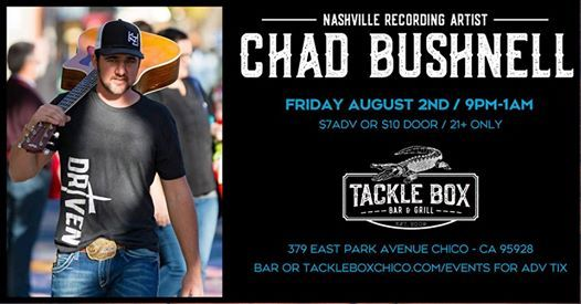Chad Bushnell at The Tackle Box