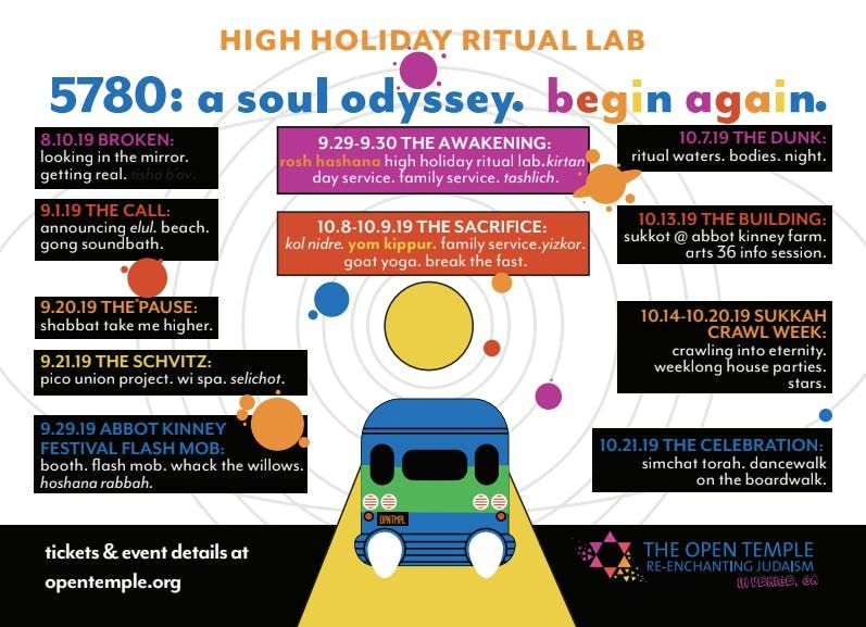 Open Temple High Holiday Ritual Lab 5780