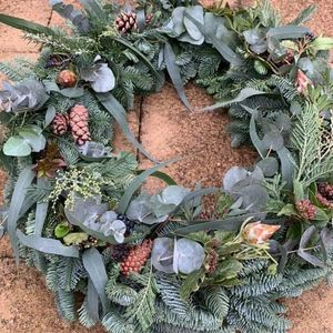 Adults and Childs Autumn Door Wreath Workshop