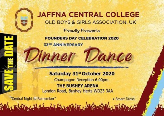 Dinner Dance BY JCC OSA, 31 October | Event in Bushey | AllEvents.in