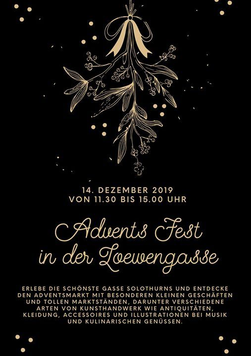Advents Fest in der Lwengasse