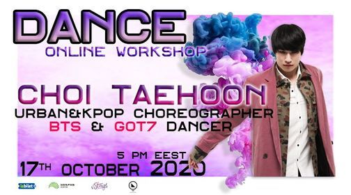 Taehoon Dance Workshop / Online Class | Online Event | AllEvents.in