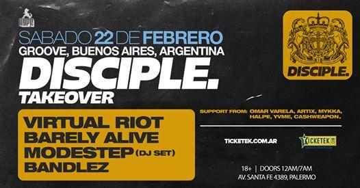 HYPE presents Disciple Takeover Virtual Riot Modestep y mas