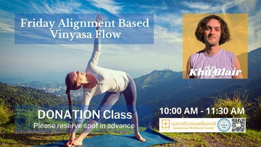 Friday Alignment Based Vinyasa Flow | Event in Chiang Mai | AllEvents.in