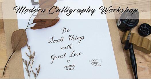 Modern Calligraphy Workshop with Khai Handmade