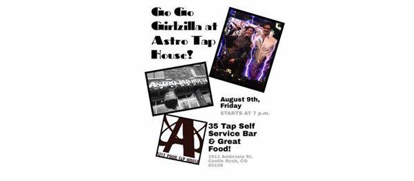 Go Go Girlzilla @ Astro Tap House! | Castle Rock