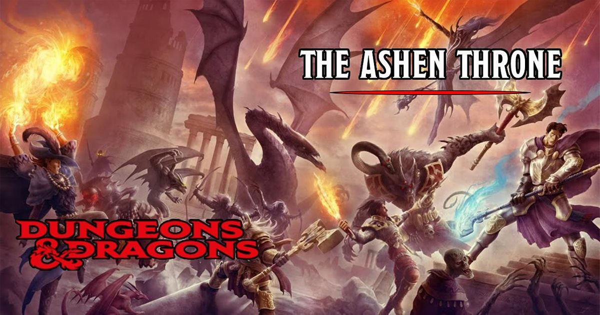 Dungeons & Dragons - The Ashen Throne Chapter 3