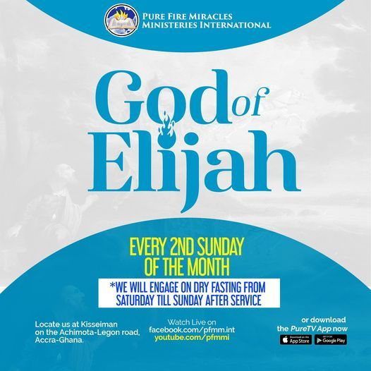 God Of Elijah, 9 May | Event in Accra | AllEvents.in