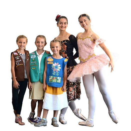 Girl Scouts Go to the Nutcracker