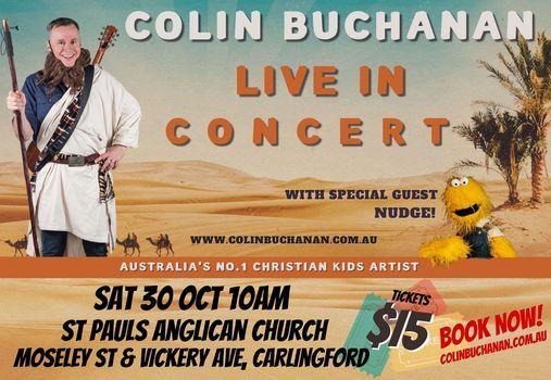 Colin Buchanan Kids/Family Concert - Carlingford, 30 October | Event in Burwood | AllEvents.in