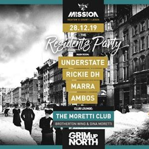Free Party  Grim Up North  Mission Leeds
