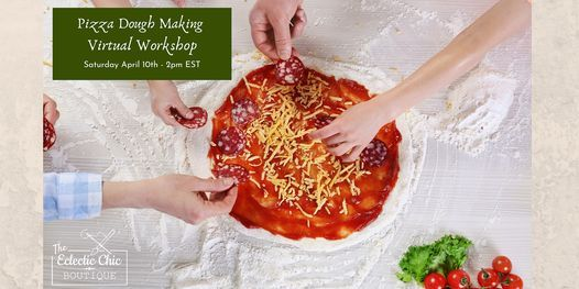Pizza Dough Making Virtual Workshop   Online Event   AllEvents.in