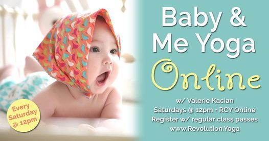 Online Baby & Me Yoga   Event in Acton   AllEvents.in