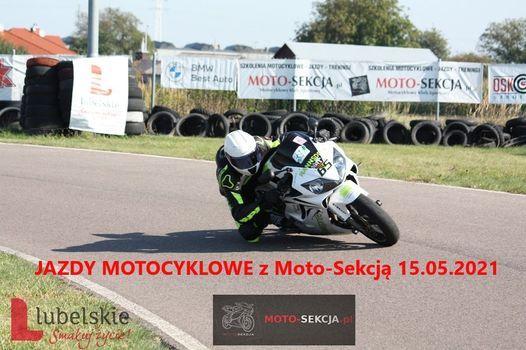 JAZDY MOTOCYKLOWE z Moto-Sekcją 15.05.2021, 15 May   Online Event   AllEvents.in