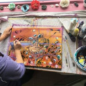 Painting as a Spiritual Practice Wednesday